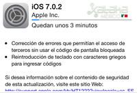 Apple lanza iOS 7.0.2 para corregir el fallo en la pantalla de bloqueo