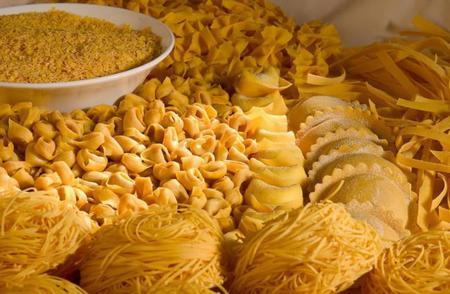 Variedades pasta