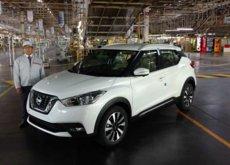 Nissan arranca la producción del Kicks en México