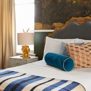 Antes y después: dormitorio y oficina en casa, un dos en uno muy elegante y funcional