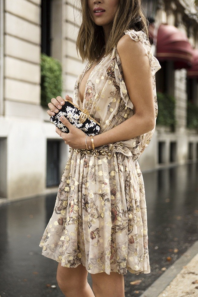 Aimee Song Of Style Chloe Chiffon Dress