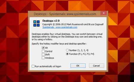 Cómo configurar escritorios virtuales en Windows con Sysinternals