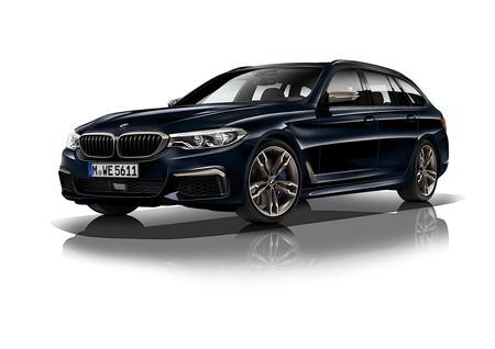 BMW M550d xDrive: cuatro turbos y 400 CV para este diésel de armas tomar