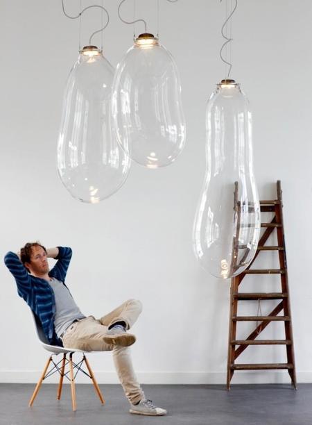 La magia de las pompas de jabón, hecha realidad en tus lámparas
