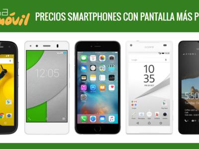 ¿Buscas smartphone manejable con pantalla más pequeña? Así son los 24 modelos más interesantes