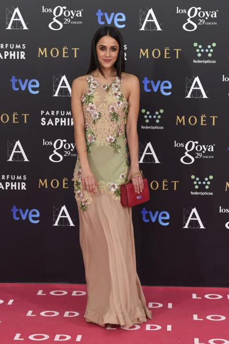 Macarena Garcia Goya 2015 Alberta Ferretti vestido