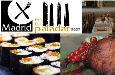 Madrid en tu paladar, cocina de autor al alcance de los ciudadanos