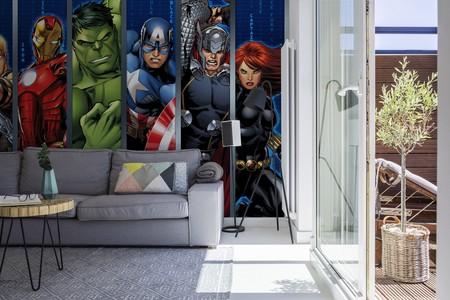 Los superhéroes invaden las paredes de tu hogar con la nueva colección de Pixers