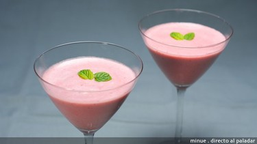 Postres fáciles y rápidos III: Mousse de fresa