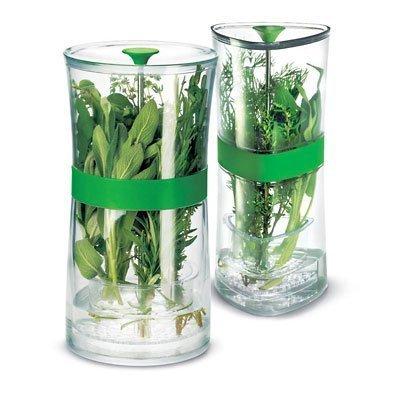 Herb Keeper, accesorio para mantener tus hierbas frescas
