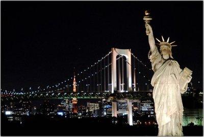 La Estatua de la Libertad de Tokyo