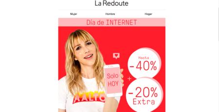Oferta flash en La Redoute, consigue un 20% extra solo durante el 17 de mayo