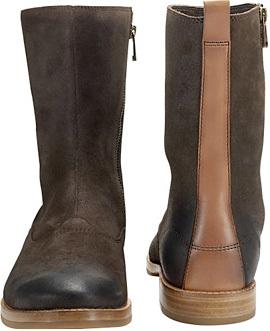 Fossil Dean Zipper Boot, la elegancia vintage en una bota masculina
