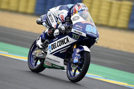 Jorge Martín se lleva la pole en Moto3 con la lluvia como protagonista inesperada