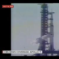Por fin podemos ver la transmisión original de 1969, con anuncios incluidos, del inicio de la misión Apollo 11