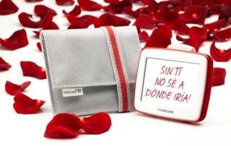 San Valentín: TomTom en edición especial en colores blanco y rojo