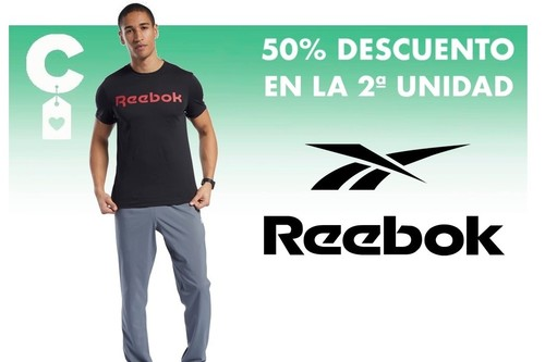 Con el 50% de Reebok (en la segunda unidad) podemos marcarnos lookazos de lo más cómodos por mucho menos
