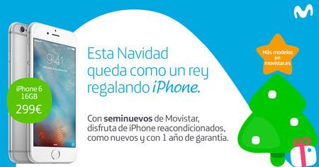 Movistar se apunta a los smartphones reacondicionados, con distintos iPhones desde 299 euros