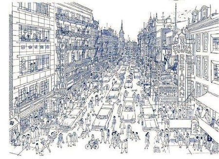 Chinatown vista por Robinson