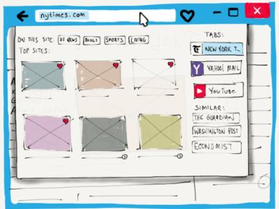 Mozilla Lightspeed, un diseño conceptual que puede revolucionar la experiencia de navegación