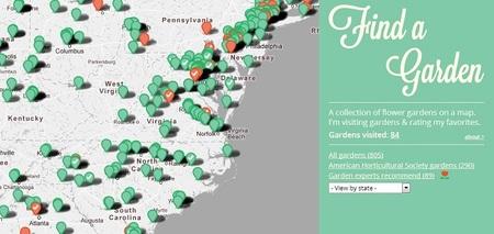Find a Garden: descubre los jardines de los Estados Unidos