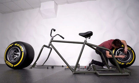 Bicicleta Rueda F1 Formula1 Pirelli Video 1