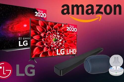 Ofertas en televisión y audio de LG: Amazon te da los mejores precios de la semana en smart TVs, barras de sonido, altavoces y auriculares