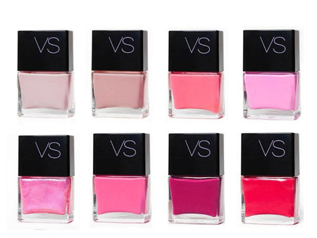 Victorias Secret pink polish shades