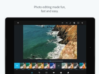 Photoshop Express 3 llega a Google Play con nueva interfaz y optimización para tablets