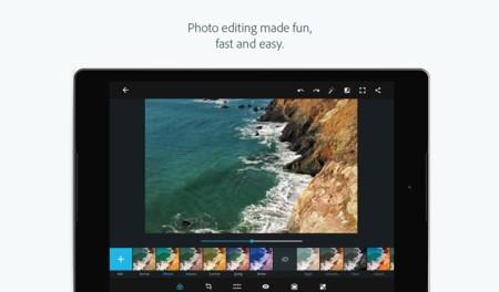 Photoshop Express 3 llega a Google Play con nueva interfaz y optimización para tablets