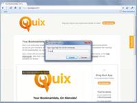 Quix, aumentando la velocidad de navegación y tu productividad en la Web. Vídeo Screencast