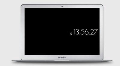 Minimal Clock, un sencillo salvapantallas con reloj