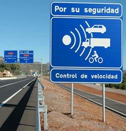 La DGT prepara los radares de tramo en el túnel de Guadarrama