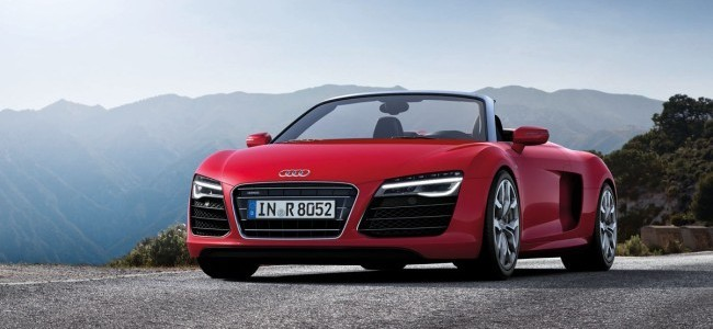 Audi R8 con faros completos de LED