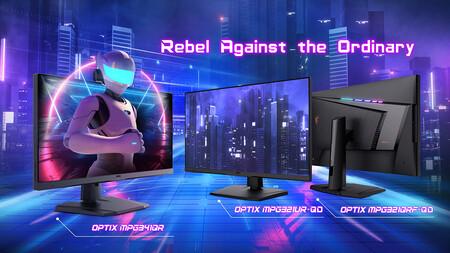 MSI anuncia nuevos monitores gaming: con tecnología Quantum Dot, hasta 175 Hz y HDMI 2.1
