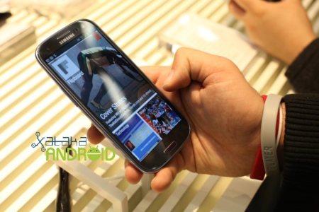 Flipboard para Android visto en el Samsung Galaxy SIII