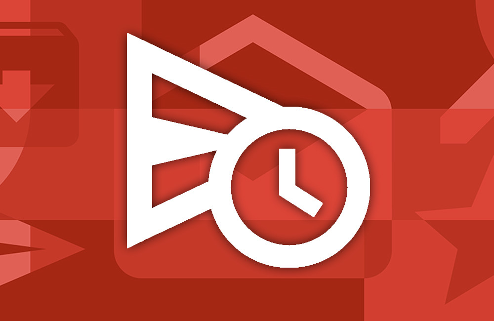 How to schedule the sending of an e-mail with Gmail for Android