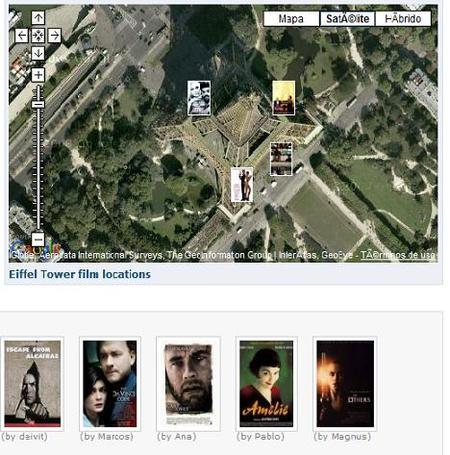 Filmaps, busca y ubica las locaciones donde se filmaron películas famosas