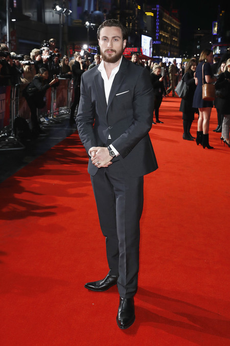 Aaron Taylor Johnson Outlaw King European Premiere 62nd Bfi London Film Festival