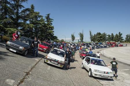 30 aniversario del Peugeot 205 GTi, así lo celebraron en Madrid