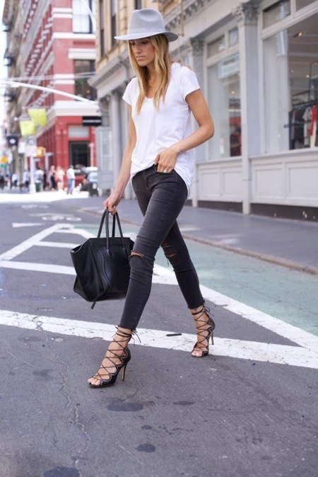 J Brand Jeans Nyc Street Style Isabel Marant 11 Of 11