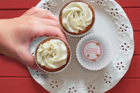 Divertidos moldes de la fortuna para cupcakes