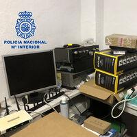 La Policía cierra una red de IPTV que estiman que ganaba un millón de euros al año