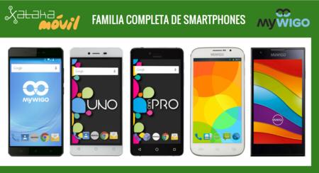 Así queda el catálogo de smartphones MyWigo tras la llegada del nuevo MyWigo City 2