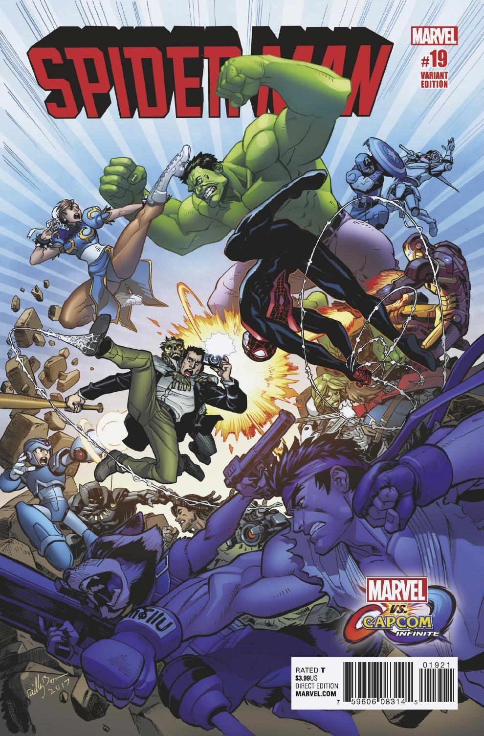 Foto de Marvel vs. Capcom portadas especiales julio y Agosto (8/8)