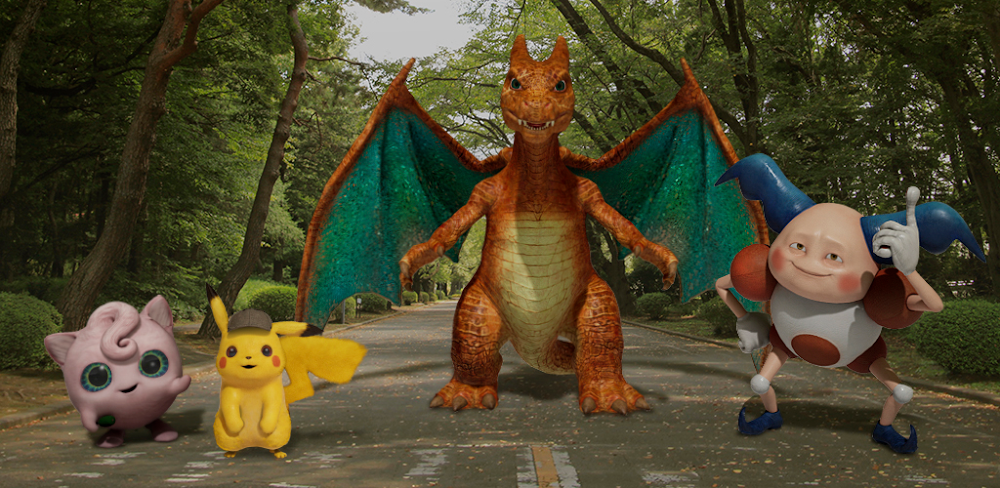 Detective Pikachu: record your own action scenes with real Pokémon thanks to Google Playground