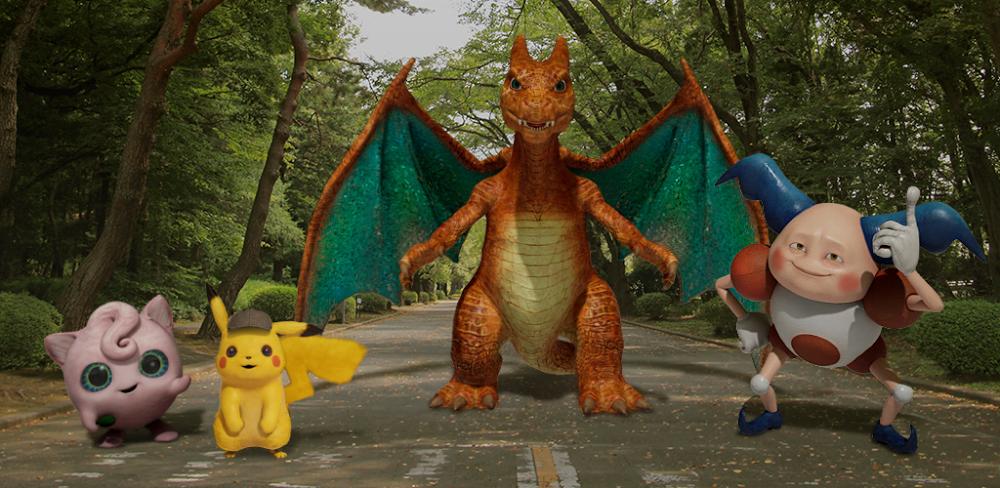 Detective Pikachu: graba tus propias escenas de acción cierta con los Pokémon gracias a Google™ Playground