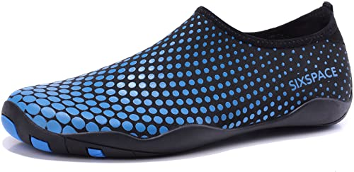 Sixspace Unisex Zapatos de Agua Deportes Acuáticos Calzado de Natación Escarpines Hombre Mujer para Buceo Snorkel Surf Piscina Playa Vela Mar Río Aqua Cycling Gr.34-47