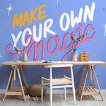 """""""Sunny sentiments"""": frases optimistas sobre papel pintado, lo nuevo de MuralsWallpaper para tu pared"""