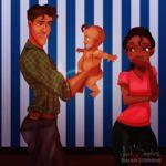 La mejor versión de las Princesas Disney: les llegó la hora de ser madres